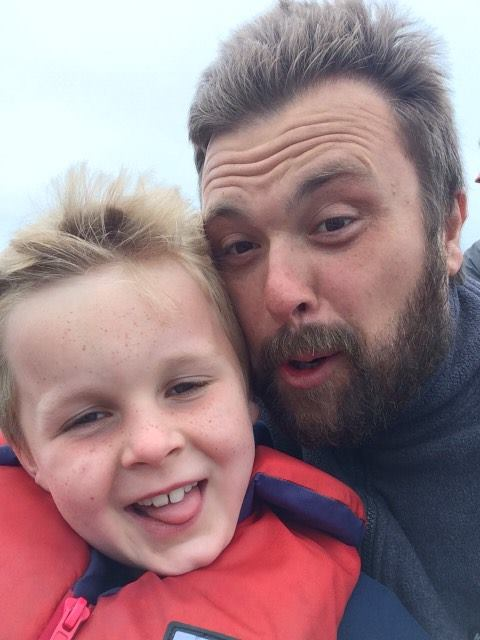 Rory & Dad Whale Watch