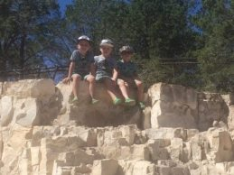 Boys grand canyon