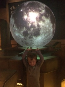 theo holding the moon seattle