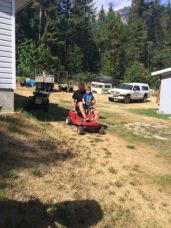 CAstle mountain go cart tho