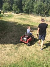 Castle mountaing go cart