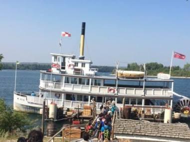 Heritage park boat