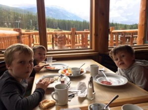 Lake louise breakfast 2